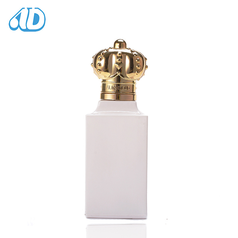 Ad-P89 Square Shape Spray Glass Perfume Bottle