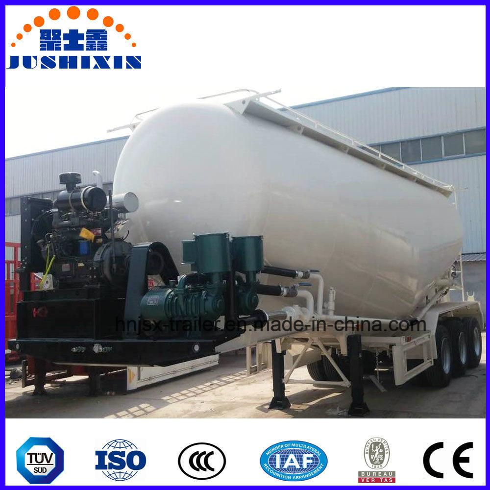 Bulk Cement Transport Tanker Truck Trailer