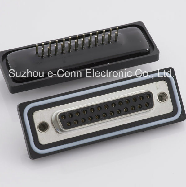 Water Proof Rectangular D-SUB Connector