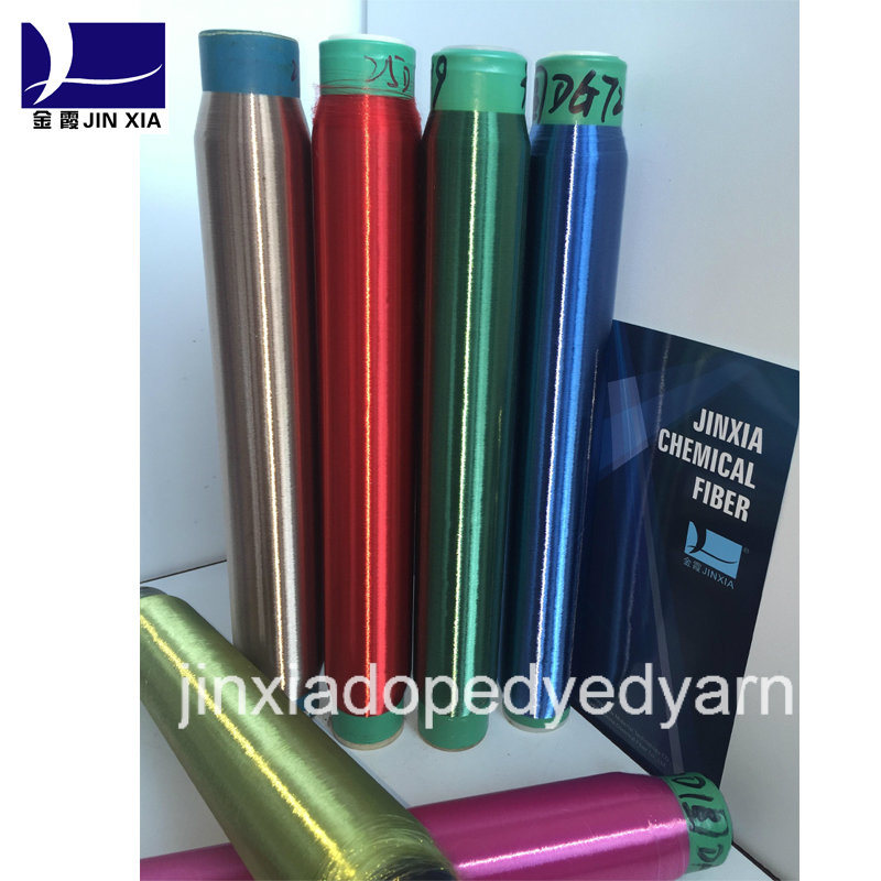 Dope Dyed Polyester Yarn Monofilament 60d/3f