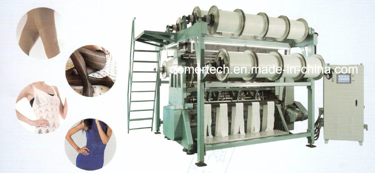 Double Needle Bar Warp Knitting Machine for Knitted Fabric