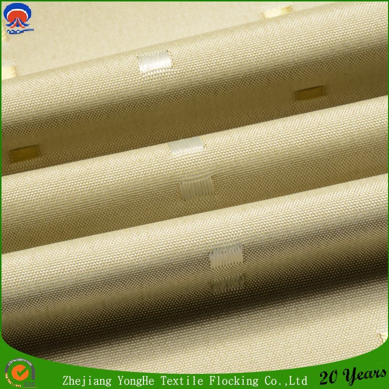 Home Textile Woven Waterproof Fr Polyester Jacquard Curtain Fabric