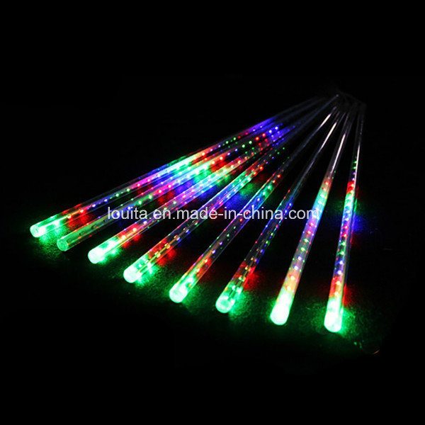 High Lumen Multicolor LED Meteor Shower Light for Decoration
