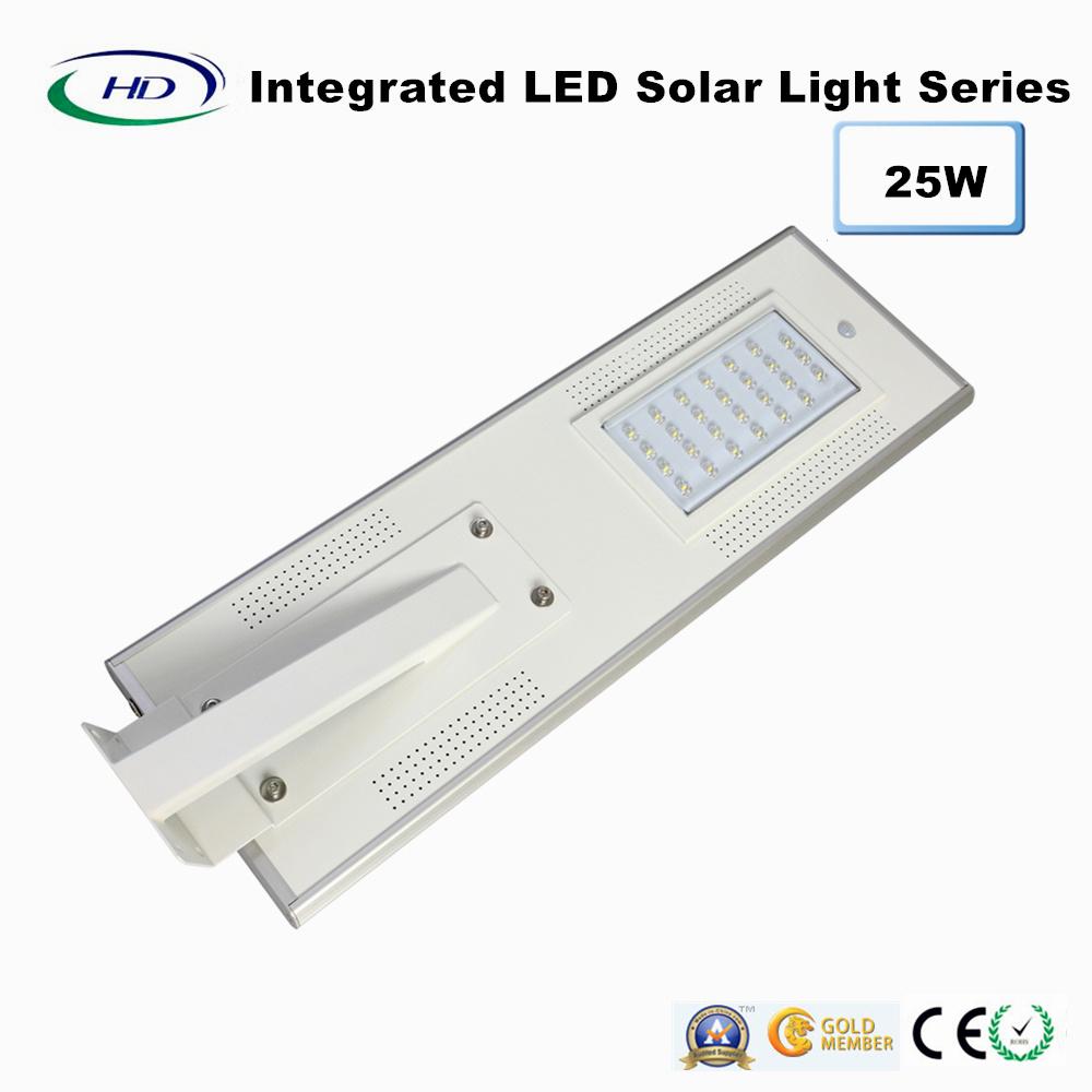 25W PIR Sensor Integrated LED Solar Garden Light