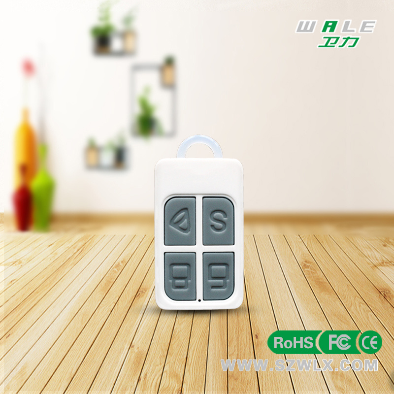 Cheap and Mini Wireless Alarm Control Remote with 433MHz