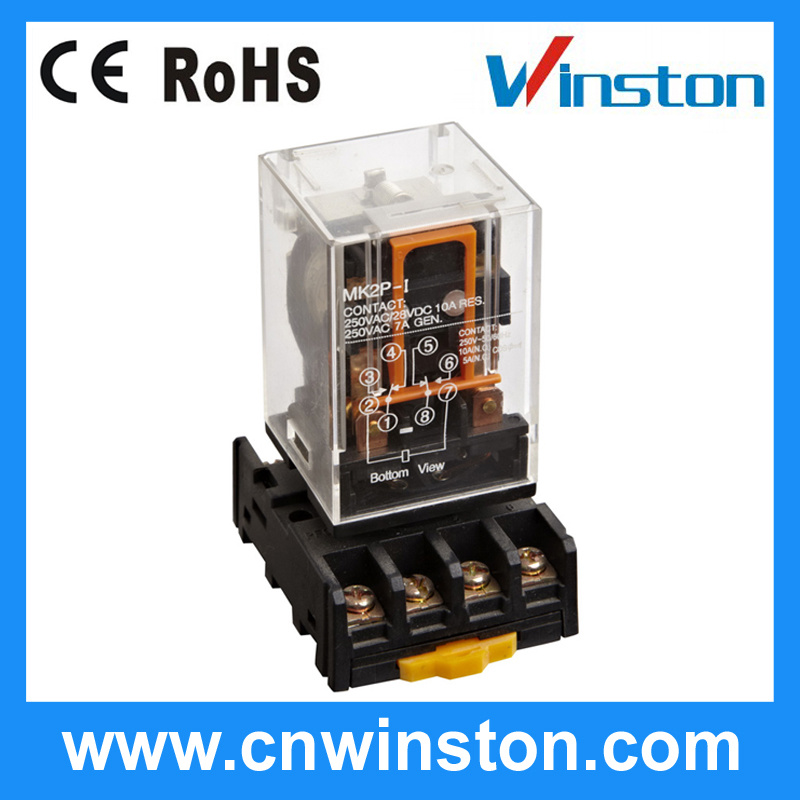 Industrial Protective Electromagnetic Mini General Purpose Power Relay with CE