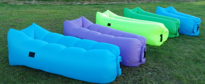 Inflatable Air Lounger, Camping Sleeping Lazy Bag Couch Sofa Bed, Hangout Portable (J4)
