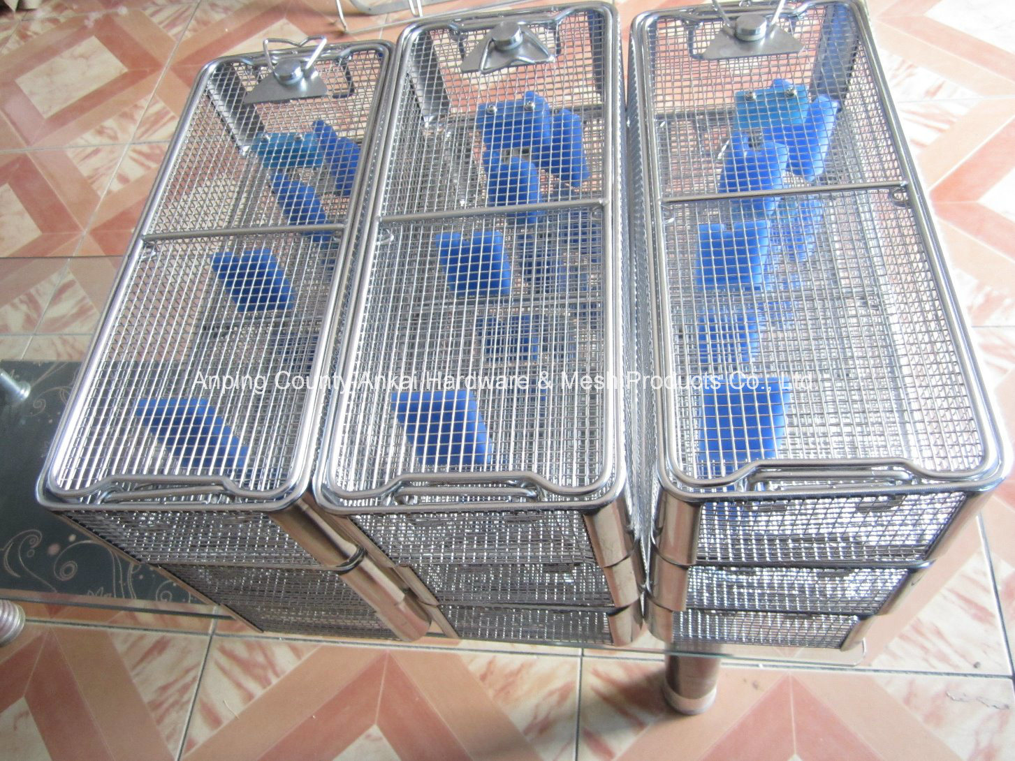 Stainless Steel Welded Wire Fabric Endoscope Basket
