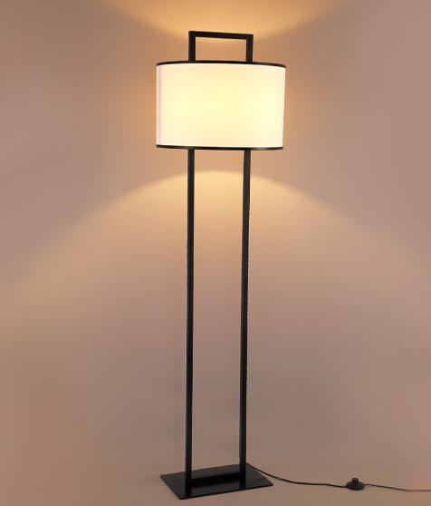 Metal Fabric Floor Lamp (WHF-461Z)