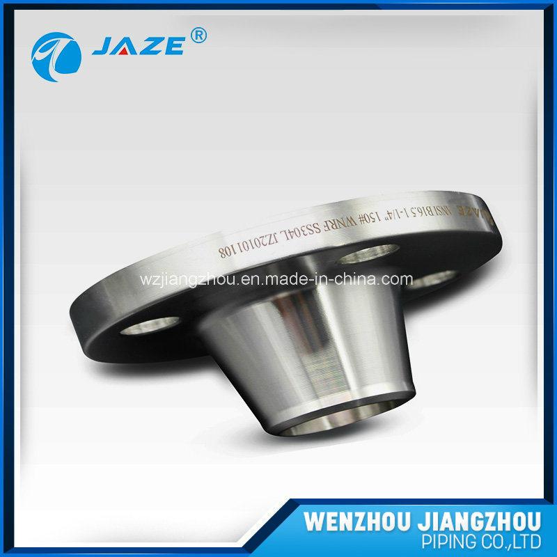 DIN Standard Pn64 Stainless Steel Long Welde Neck Flange