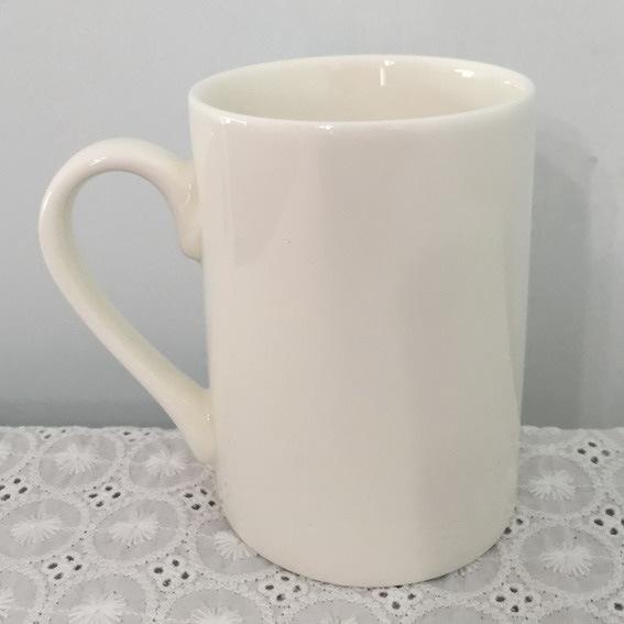 Super White Porcelain Mug- 14CD24366