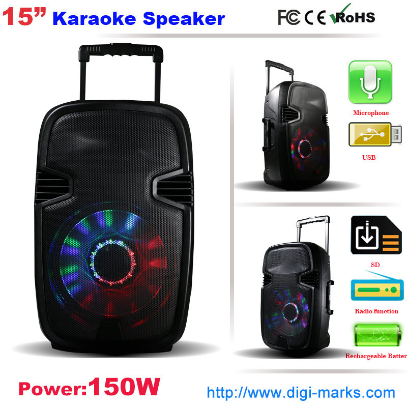 New Professional DJ Active Stage Speaker for Karaoke
