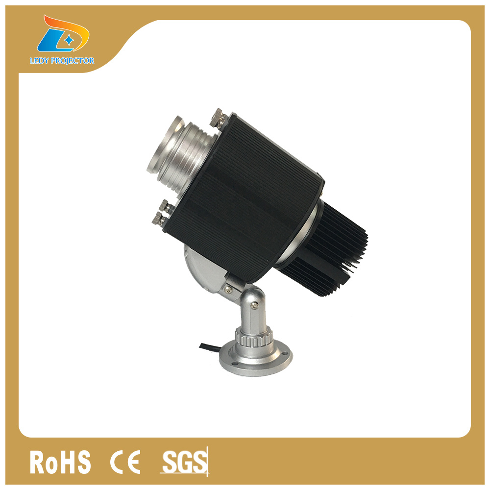 1100lm LED Logo Gobo Outdoor Rotating Projector Door Lights