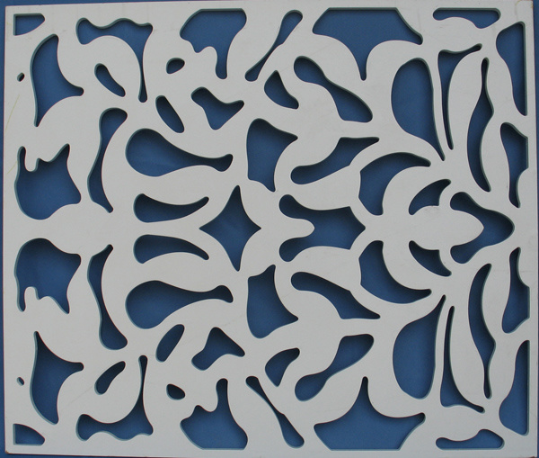 Sculpted Wall Panel, Decor 3D Wall Panel (WY-78)