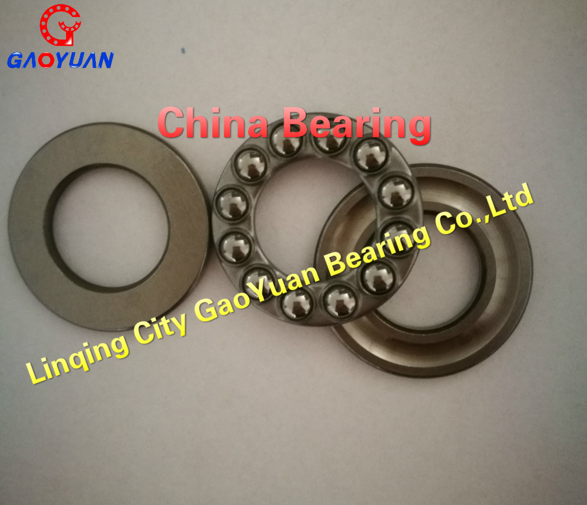 High Quality & Low Noise 51192 Thrust Ball Bearing Made in China
