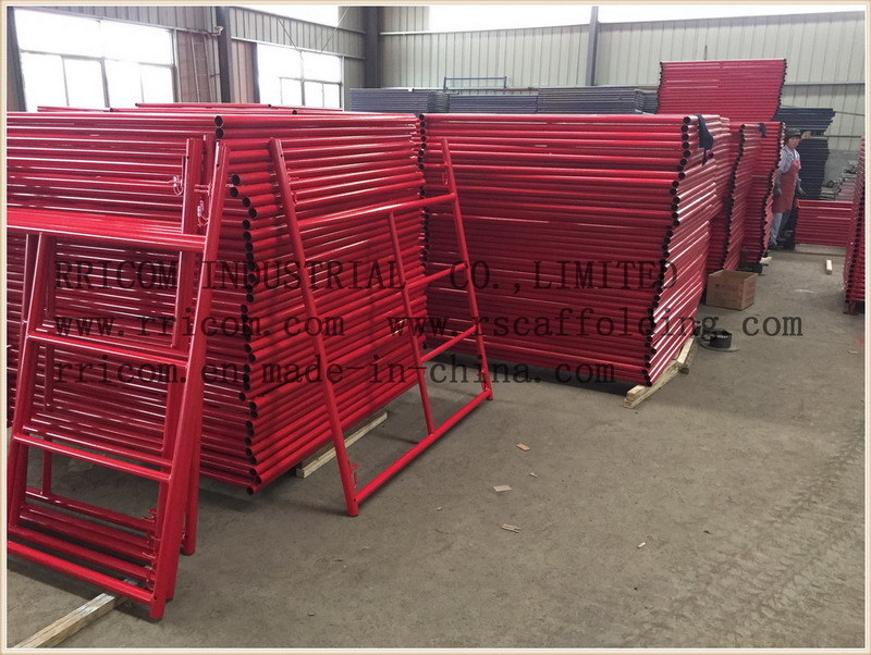Powder Coated Scaffolding Shoring Frames