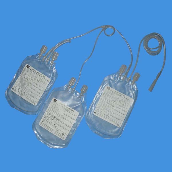 CE&ISO Approved Disposable Triple Blood Collection Bag