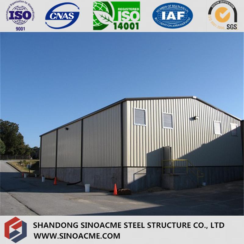 Half Open Simple Steel Structure Storage