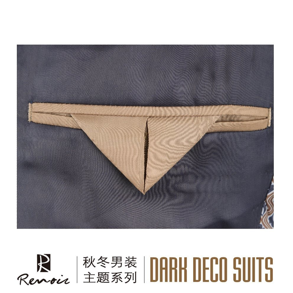 OEM Slim Fit Notch Lapel Men′s Blazer