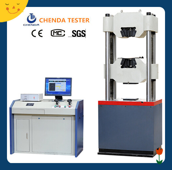 Waw-600d Computer Control Servo Hydraulic Universal Testing Machine