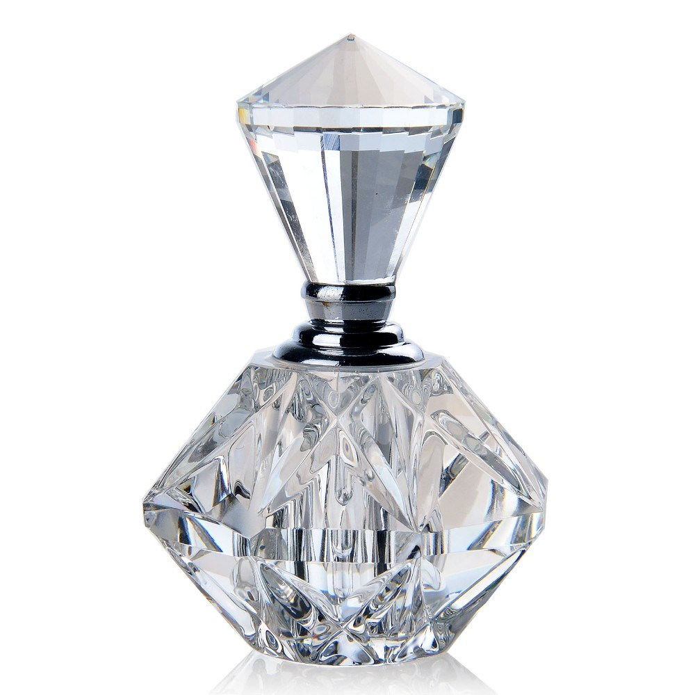 Wholesale Small 5ml Beautiful Luxury Empty Crystal Glass Perfume Bottles for Sale