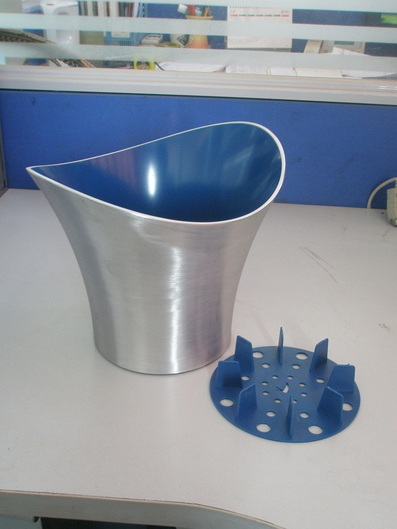 High Quality Aluminium Grey Goose Ice Bucket