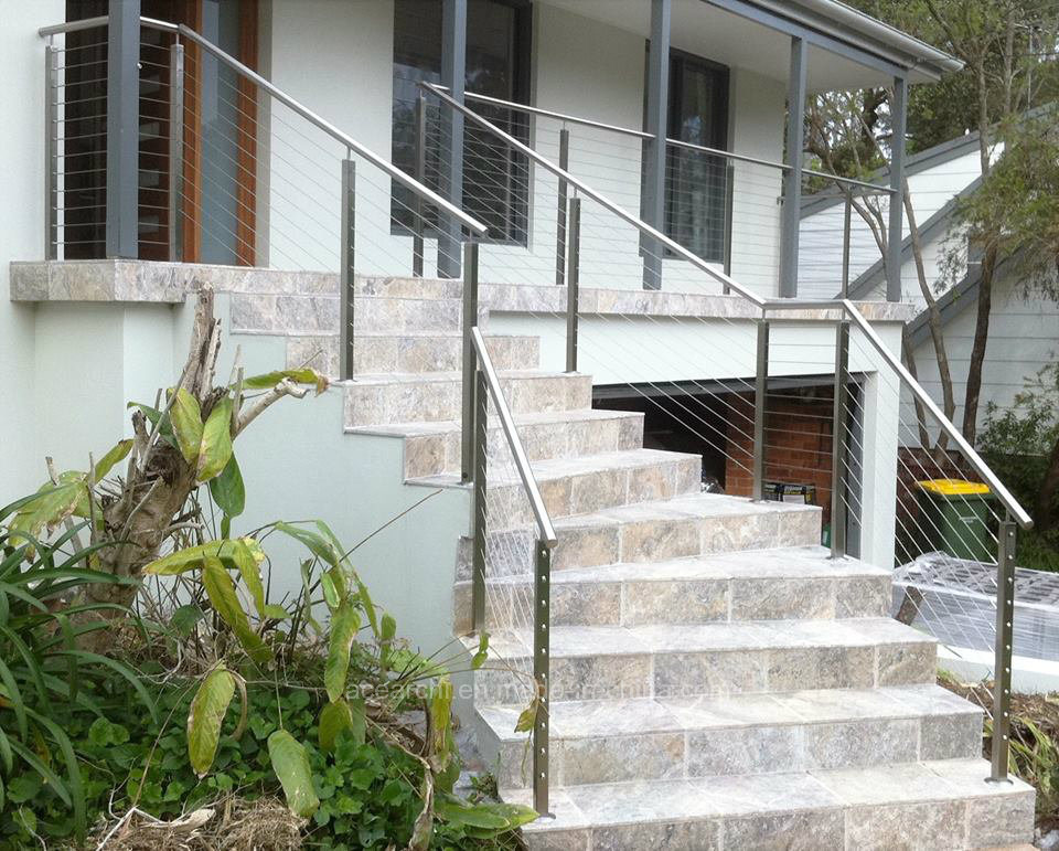 Outdoor Top Quality 316 Stainless Steel Cable Railing/Cable Balustarde for Terrace