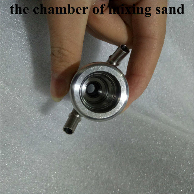 Water Jet Cutting Head Spare Parts Chamber of Mixing Sand