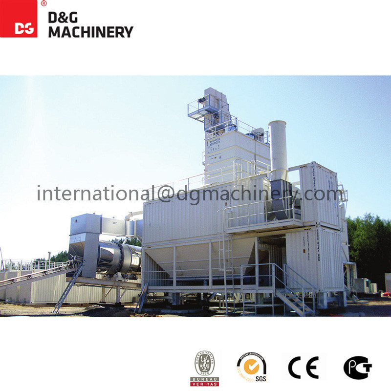 Dg3000AC Asphalt Mixing Plant / Compact Asphalt Mixing Plant Delivered by Container