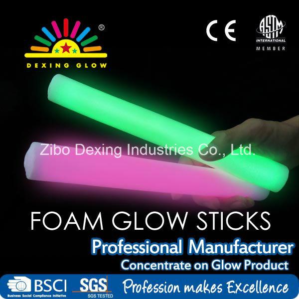 Foam Glow Sticks, Light Foam Stick