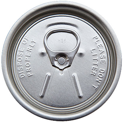 200# Aluminum Rpt/Sot Easy Open End
