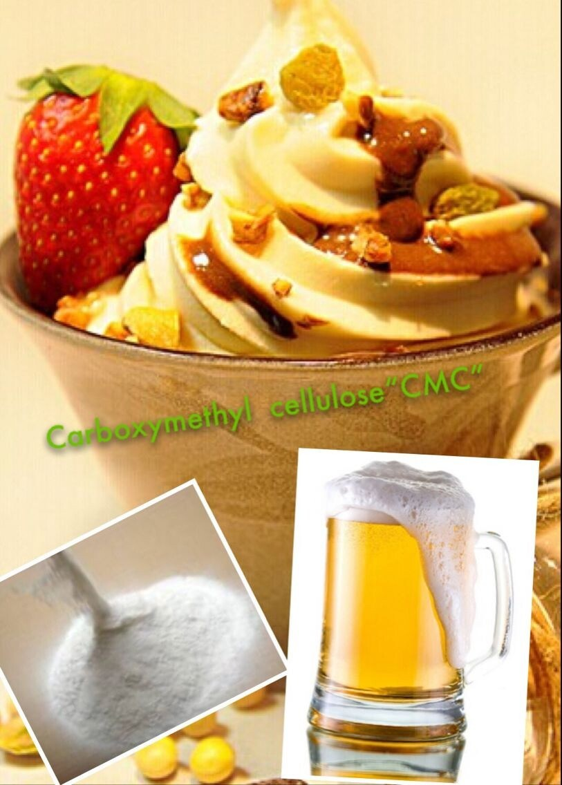 CAS: 9000-11-7 Food Additive Carboxy Methylated Cellulose CMC
