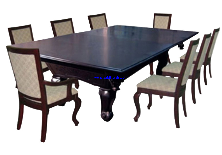 Dining billiard table d004 china billiard dining table Pool dining table