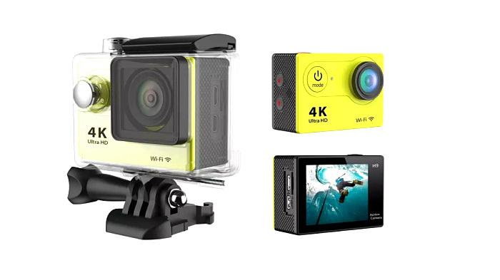 30m Waterproof Action Sport Video Camera F60 WiFi 4k HD 1080P