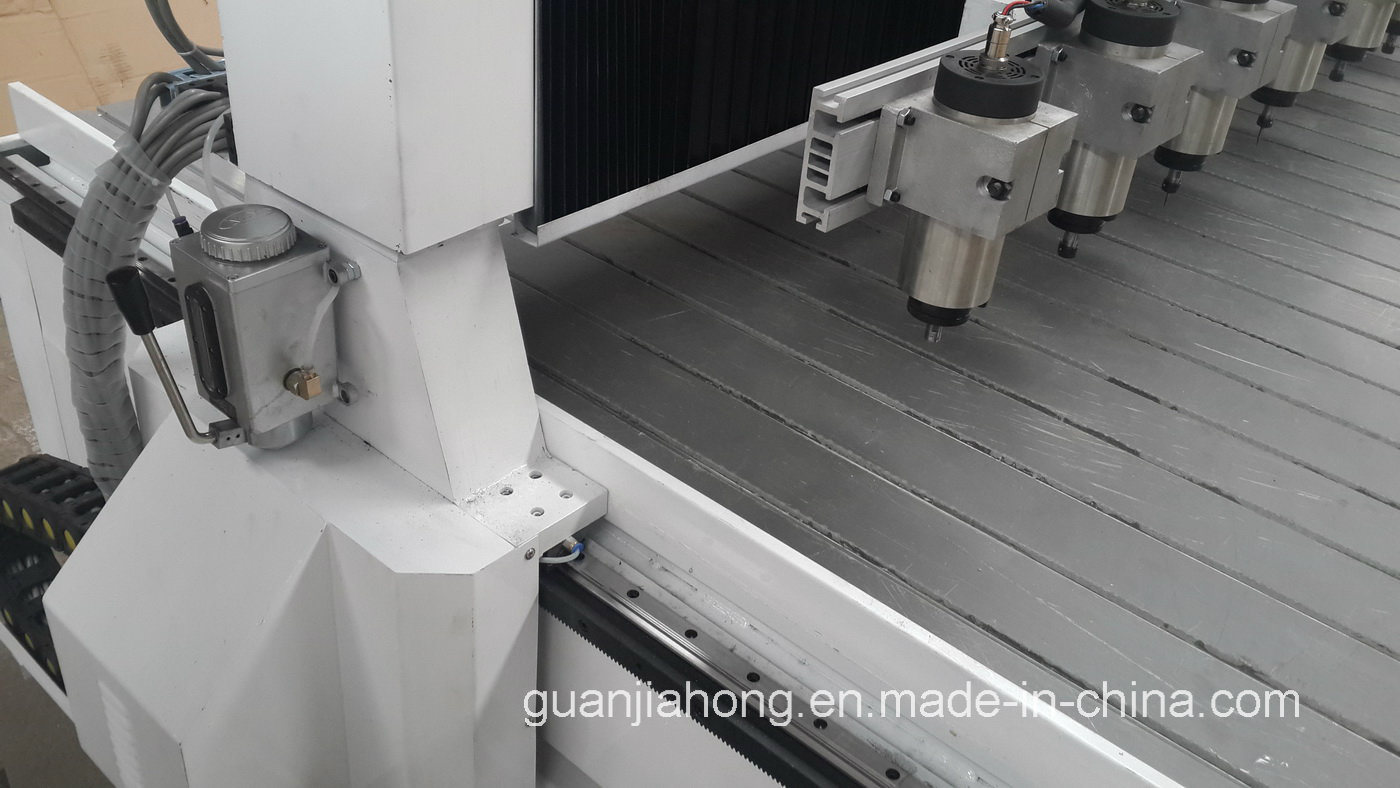 Dt1813-10 Wood Stone Acrylic Plastic Multi-Spindle CNC Router Machine