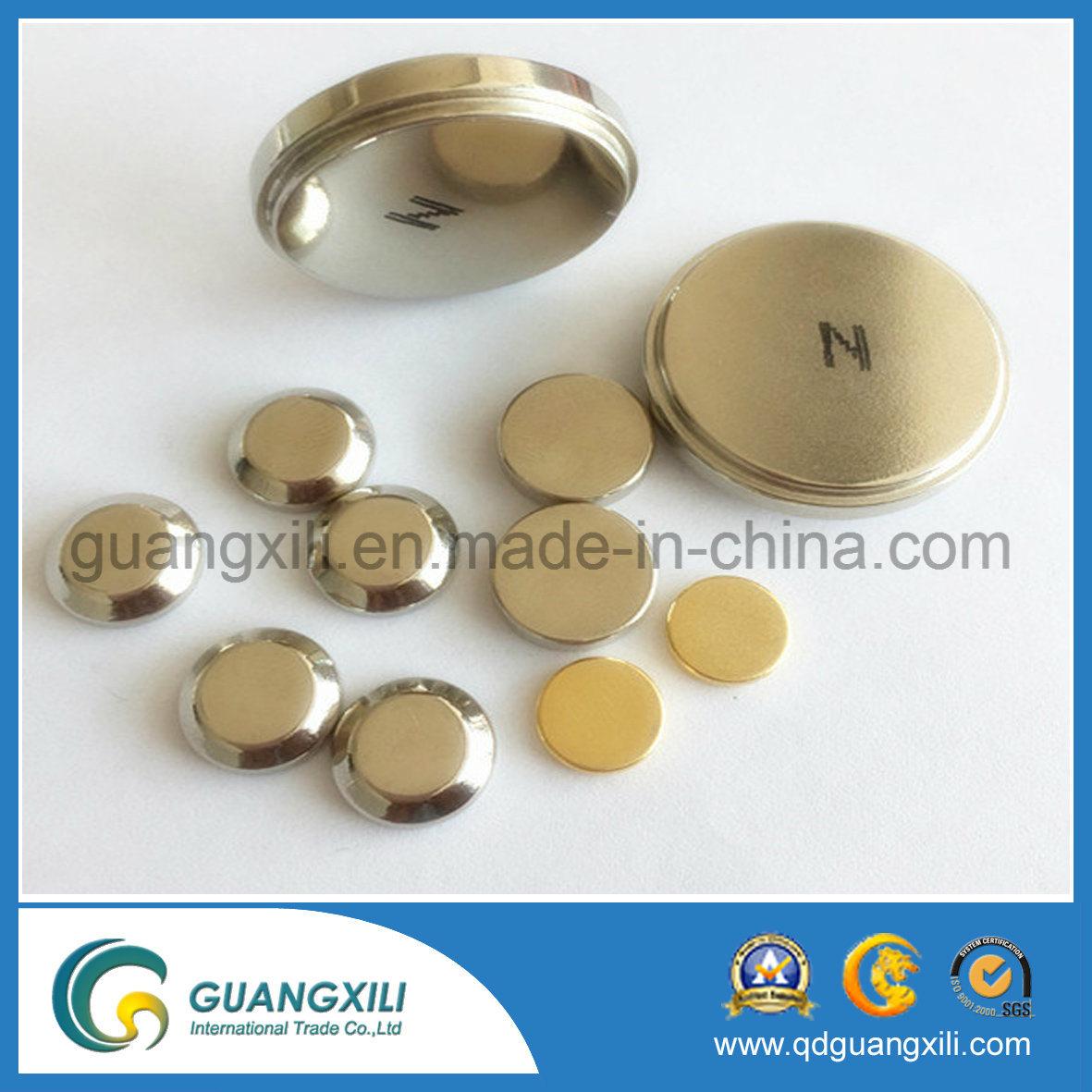 N35~N52 Permanent NdFeB Neodymium Disk Magnet for Motor