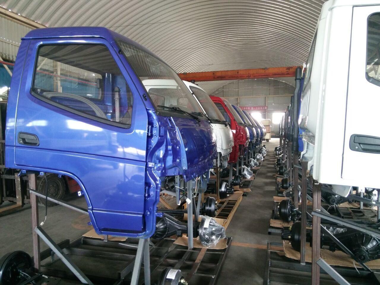 T. King Rhd Light Truck with Isuzu Engine