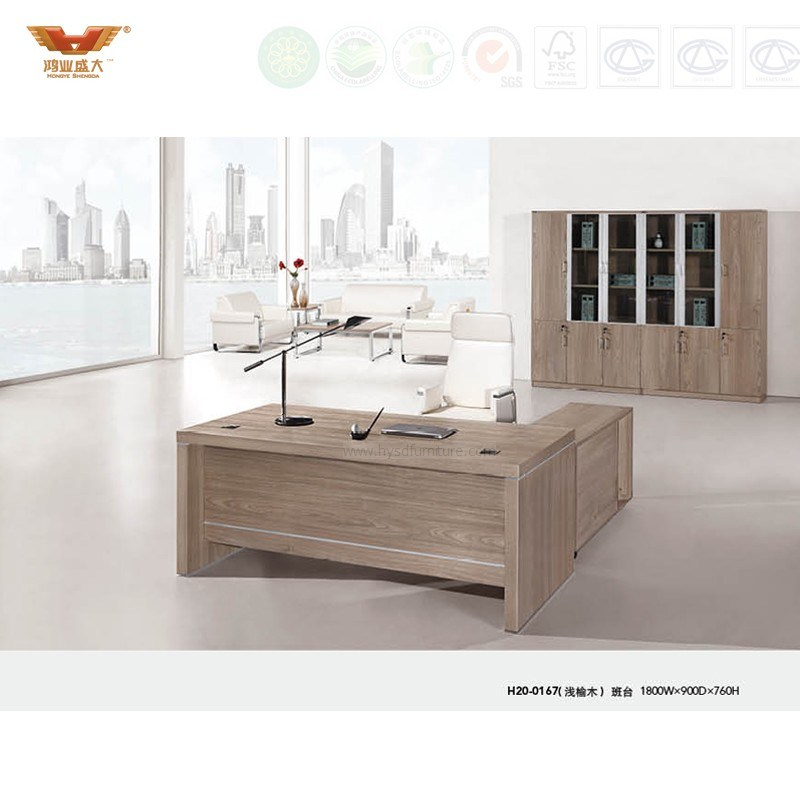Modern Office Furniture L Shape Executive Desk (H20-01)