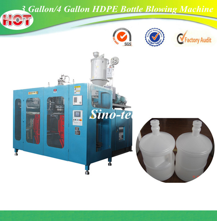 3 Gallon/4 Gallon 5gallon HDPE Plastic Water Bottle Tank Blowing Molding Machine