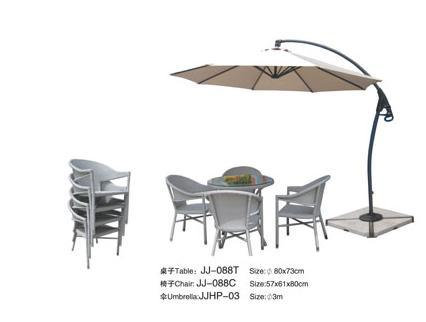 Side Pole Umbrella, Outdoor Umbrella (JJHP-03)