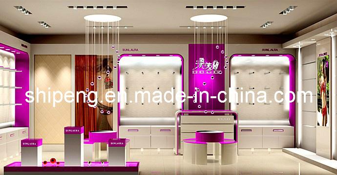Diseño de la tienda de la ropa interior