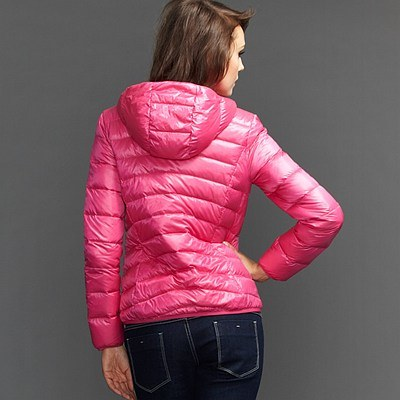 Lady Fashion Lightweight Short Down Jacket (AM003)