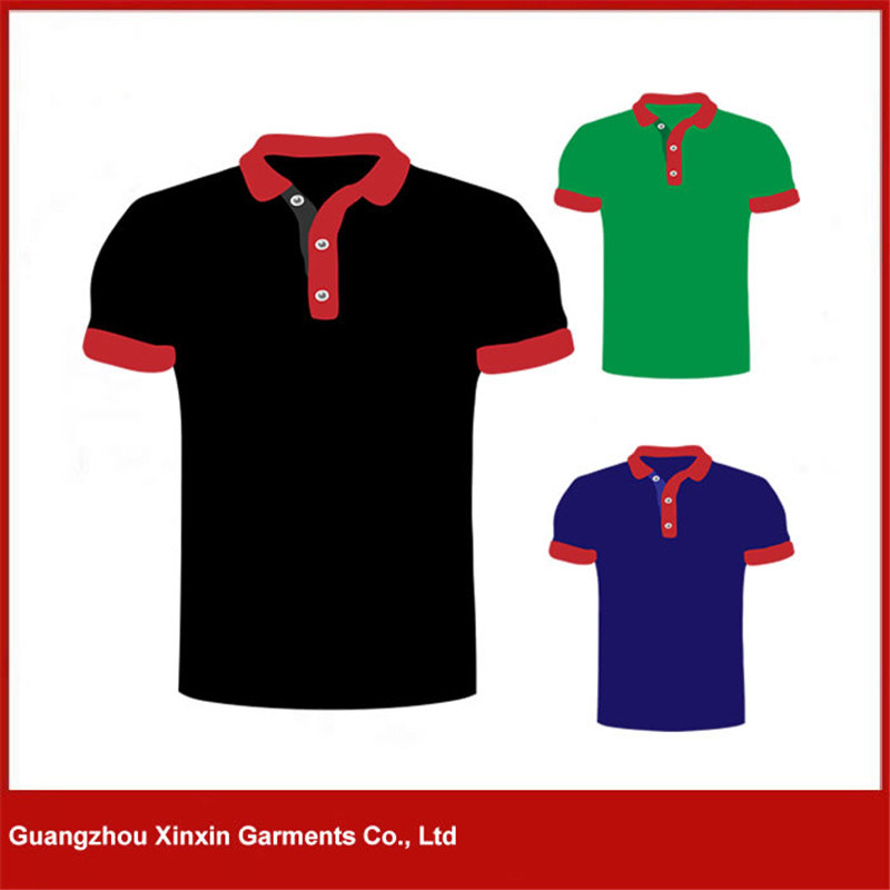 Guangzhou Factory Manufacture Cheap Promotion Men′s Polo T Shirt (P65)