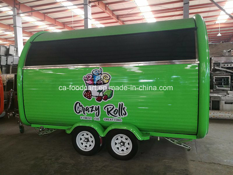 New Product, High Quality Mobile Food Trailer