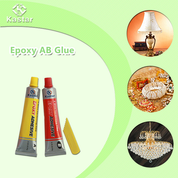 Oil Resistant Ab Glue for Precious Stones