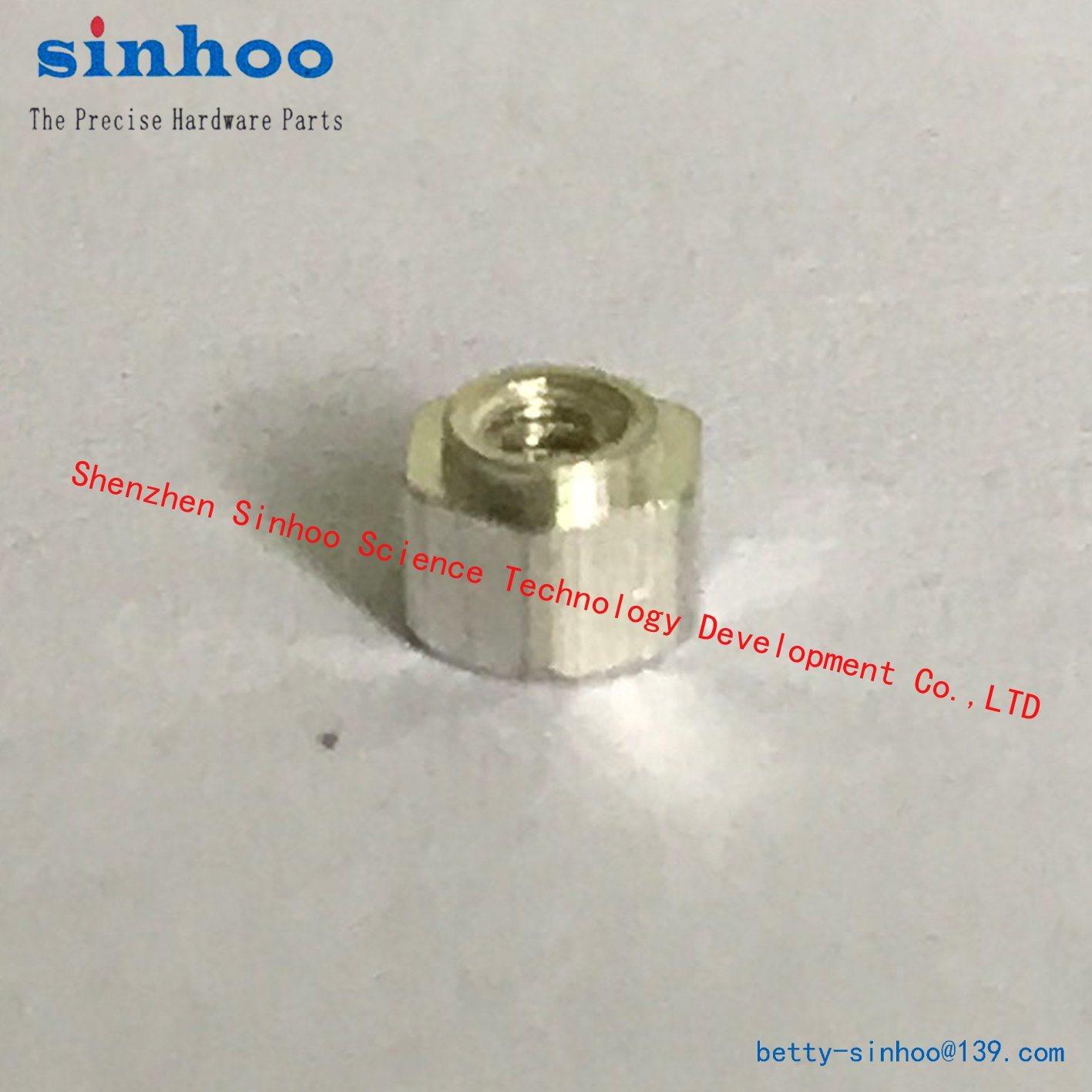 Hex Nut, Pem Nut, SMT Nut, M1.6-3, Standoff, Standard, Stock, Smtso, Tin Nut, SMD, SMT, Steel, Bulk