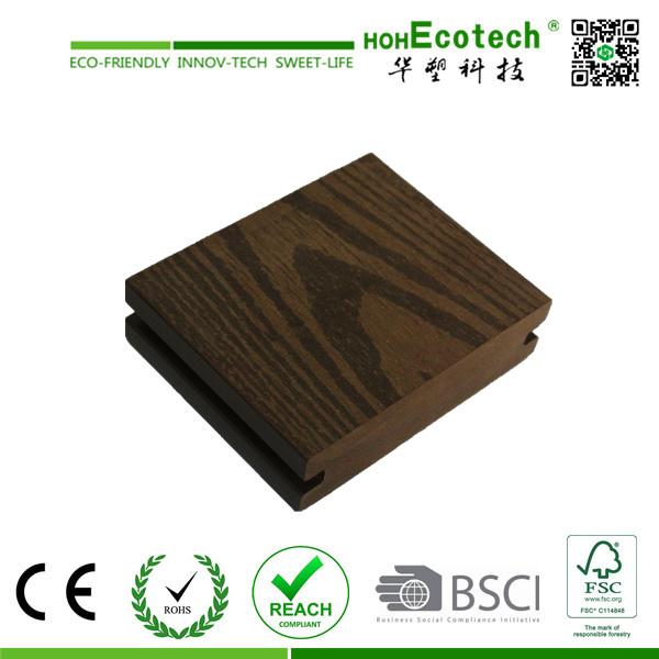 Anti-UV Outdoor Wood Plastic Composite Decking (90S25-B)