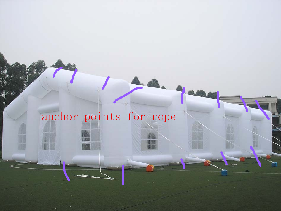 Large Giant Outdoor White Inflatable Wedding Party Camping Tent