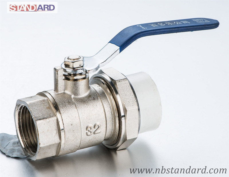 Brass Ball Valve for PPR Pipe/Brass Valve with Female Thread