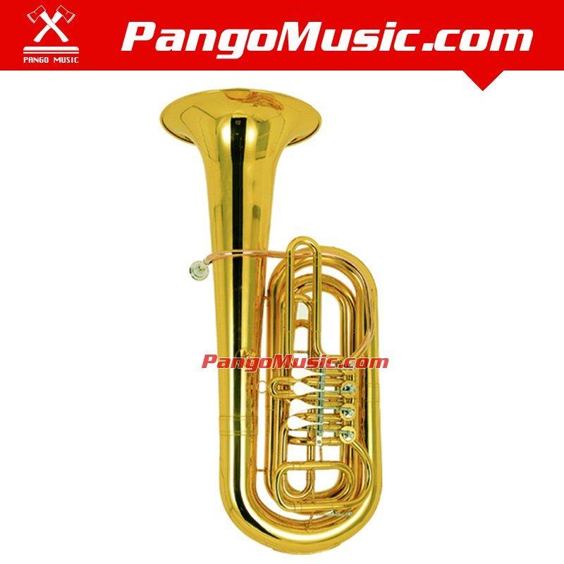 Bb Tone Brass Body Tuba (Pango PMBB-6000)